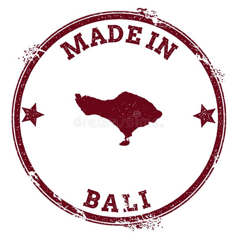 巴厘岛封印 向量例证