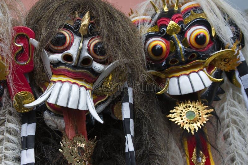 巴厘岛屏蔽 库存照片