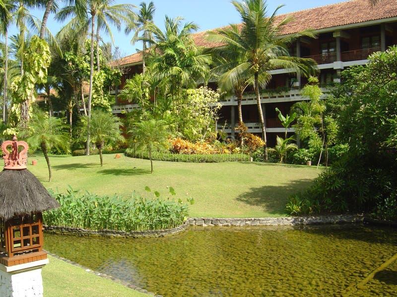 巴厘岛旅馆 免版税库存图片