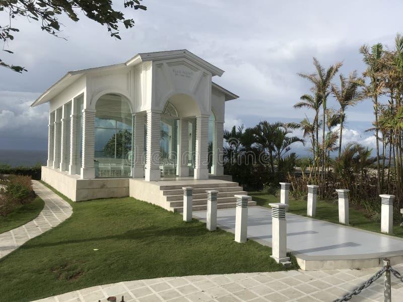 巴厘岛礼仪霍尔,Badumg-Pecatu 库存图片