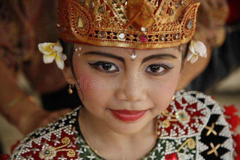 巴厘岛舞蹈演员 免版税库存照片
