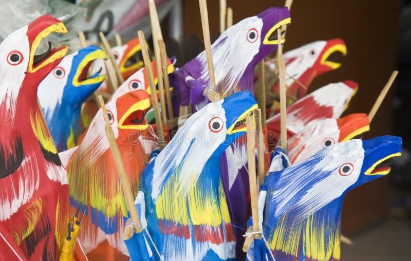 巴厘岛风筝 免版税库存图片