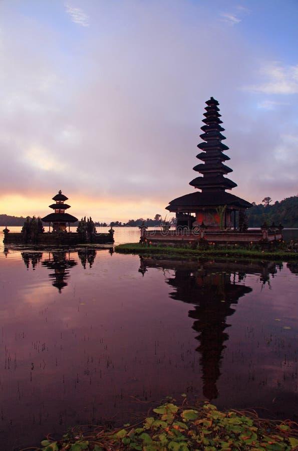 巴厘岛bedugul印度pura 免版税库存图片