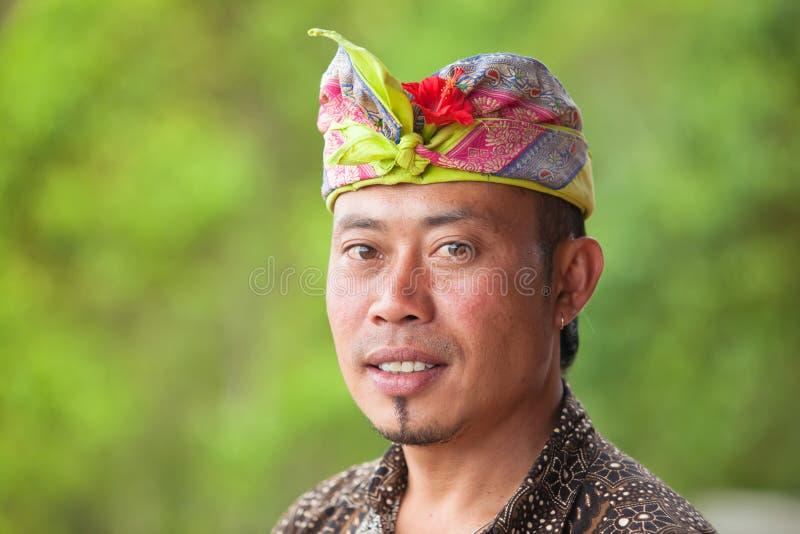 巴厘语人 库存照片
