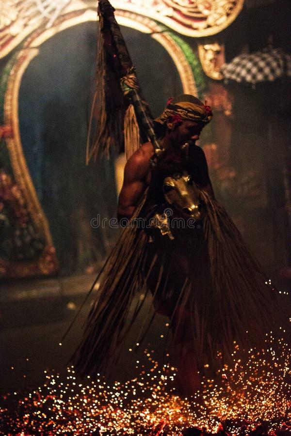 巴厘语舞蹈家 免版税图库摄影