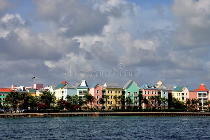 巴哈马公寓房 免版税库存图片