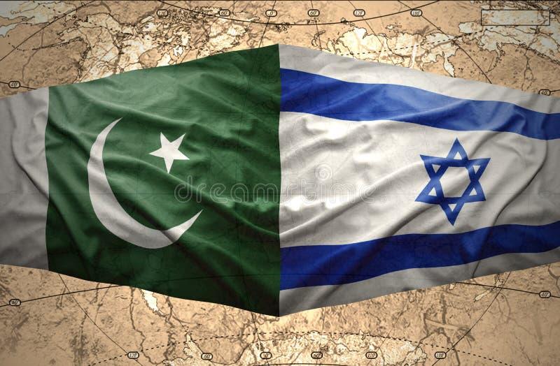 巴基斯坦和以色列 向量例证