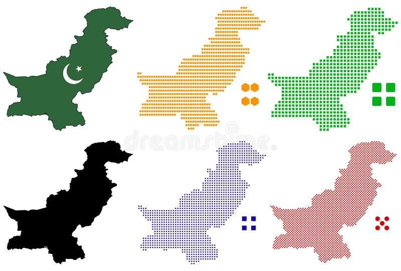 巴基斯坦 向量例证