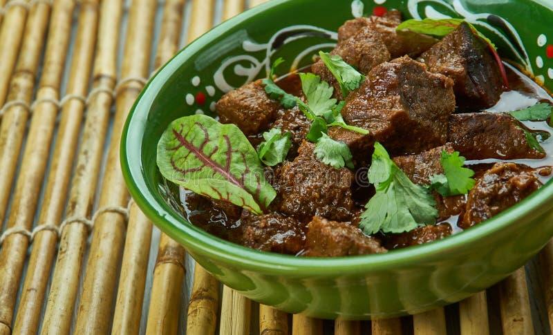 巴基斯坦Tawa羊肉 免版税库存图片