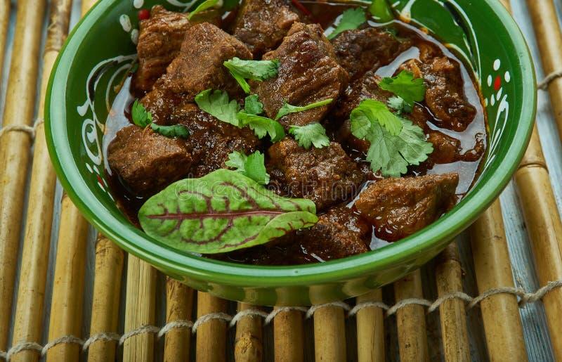 巴基斯坦Tawa羊肉 免版税库存照片