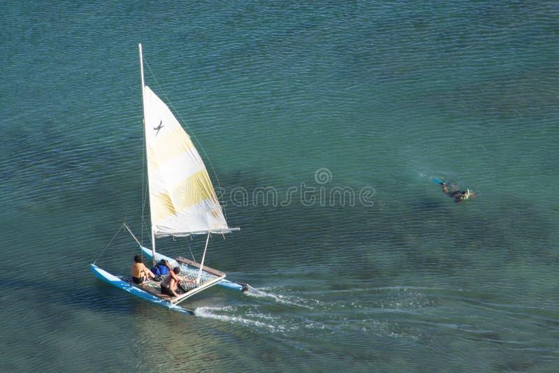 巴塔哥尼亚人的航行 库存照片