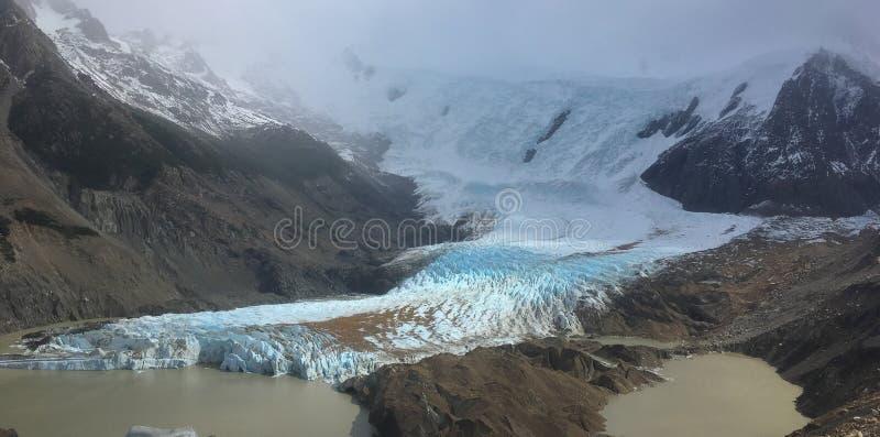 巴塔哥尼亚拉古纳托尔Glacier湖 免版税库存图片