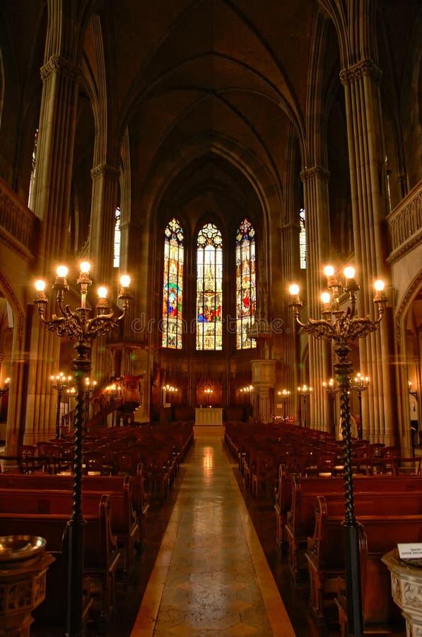 巴塞尔大教堂 库存图片