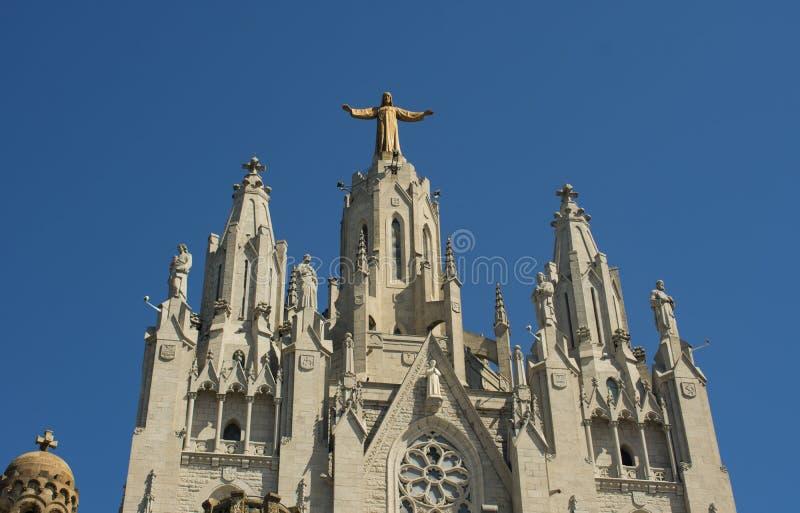 巴塞罗那圣心殿之美 免版税图库摄影