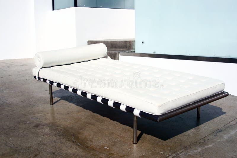 巴塞罗那沙发床现代样式 免版税库存图片