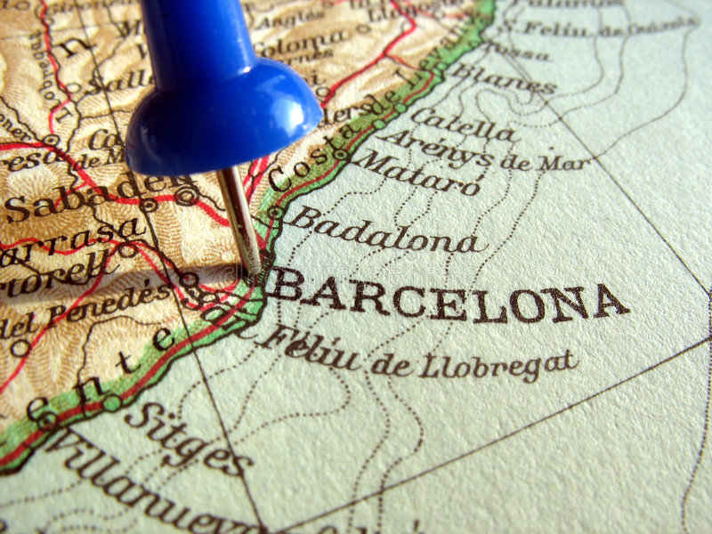 巴塞罗那西班牙 免版税图库摄影
