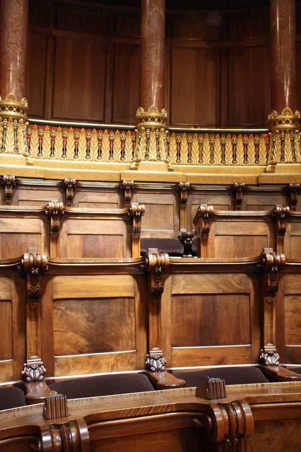 巴塞罗那香港大会堂 免版税库存照片