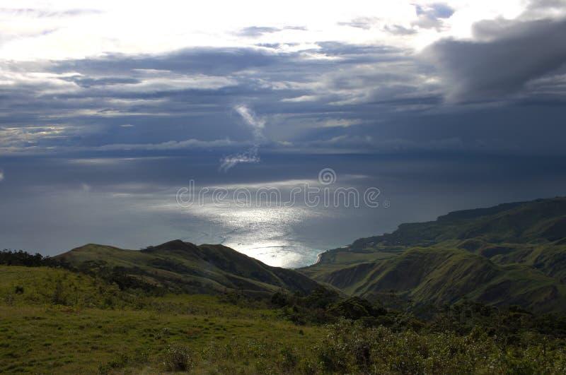 巴布亚新几内亚风景 免版税库存图片