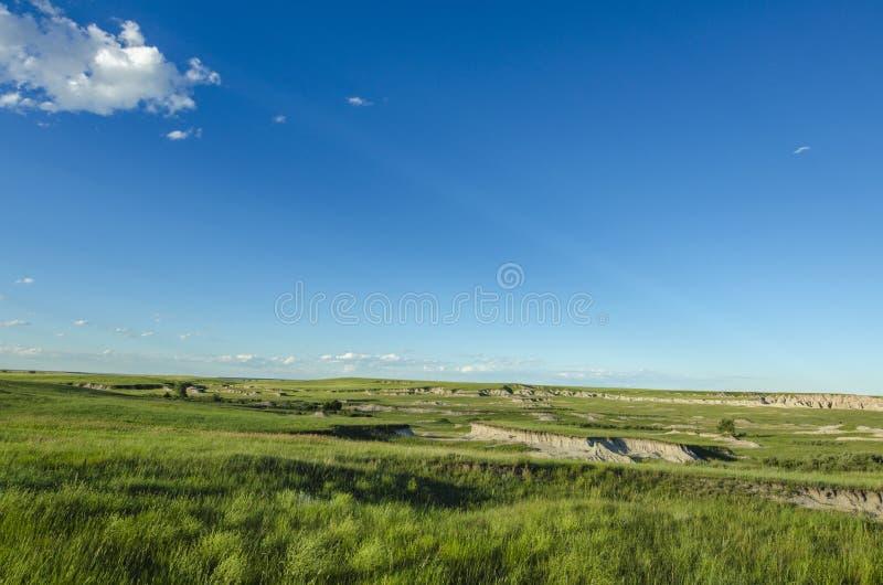 巴德兰兹国家公园 美国南达科他州 免版税库存照片