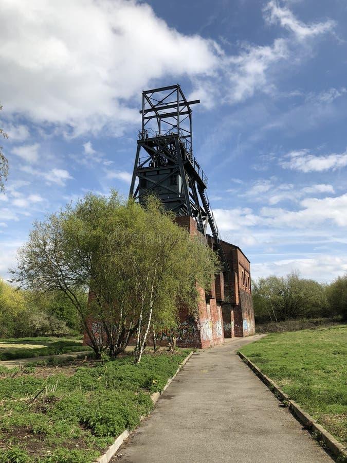 巴恩斯利主要煤矿 库存图片