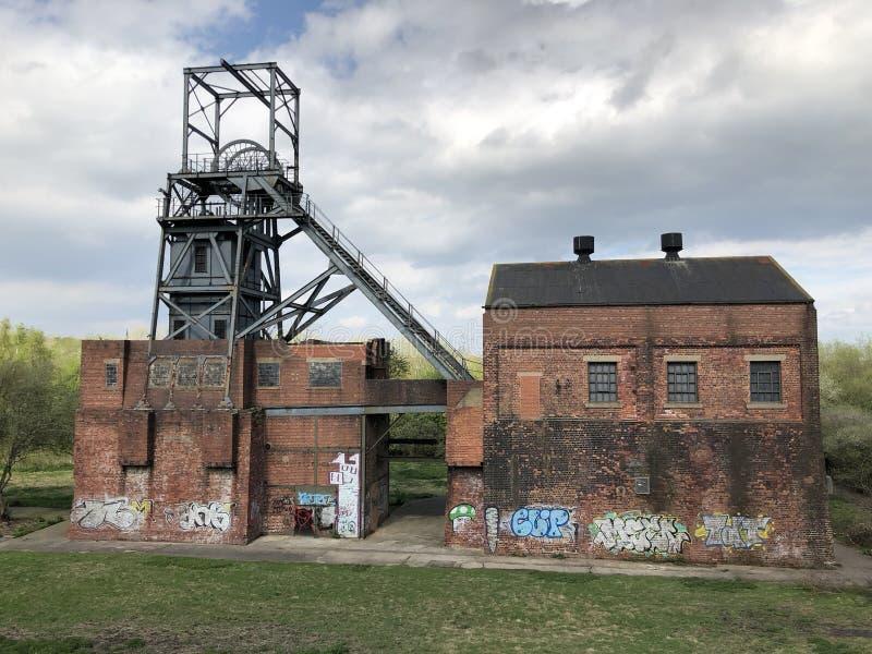 巴恩斯利主要煤矿 库存照片