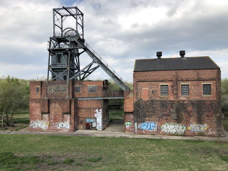 巴恩斯利主要煤矿 免版税图库摄影
