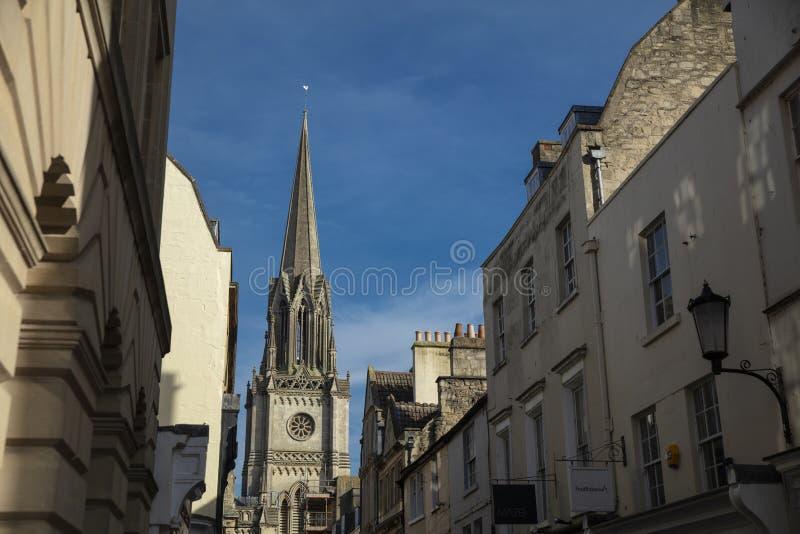 巴恩,萨默塞特,英国,2019年2月22日,没有教会的圣迈克尔斯 库存图片