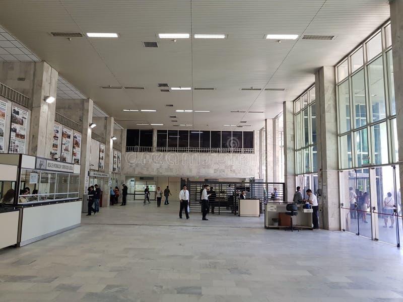 巴拉圭的法院大楼 库存照片