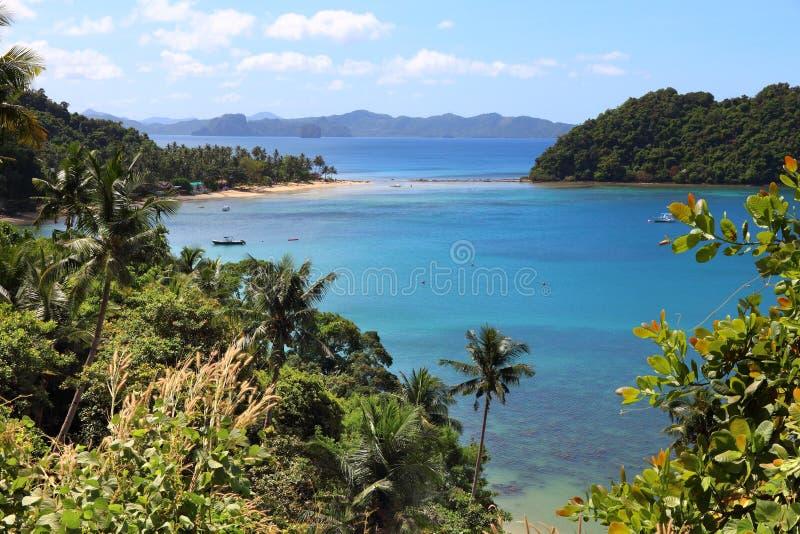 巴拉望岛,菲律宾 免版税库存照片