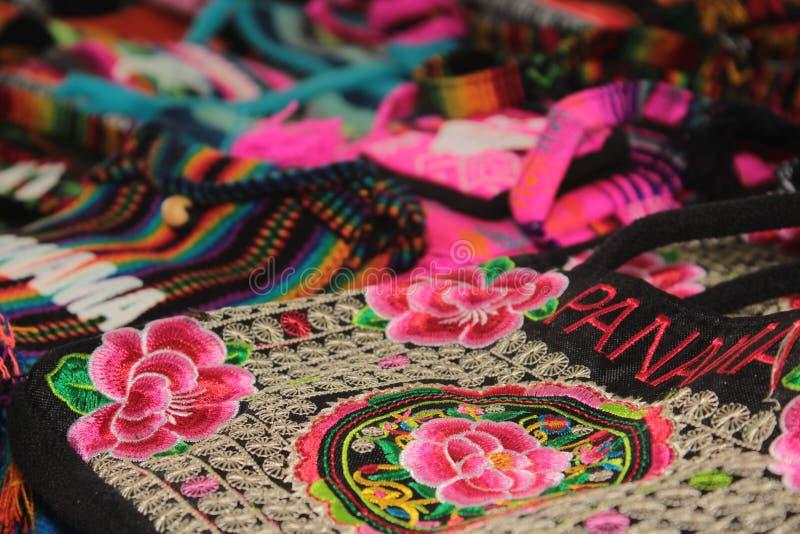 巴拿马工艺品 库存图片