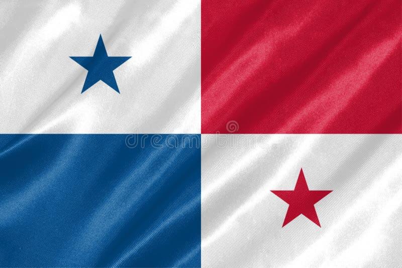 巴拿马旗子 皇族释放例证