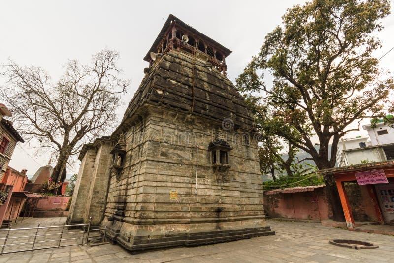 巴格什瓦尔古印度教寺庙 免版税库存照片