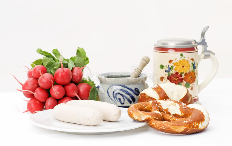 巴法力亚早餐 库存照片
