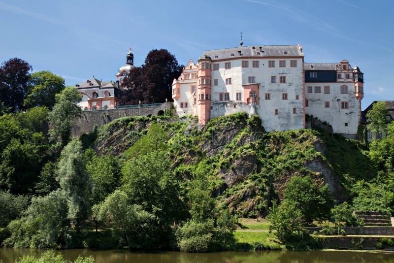 巴洛克式的住宅weilburg 免版税图库摄影