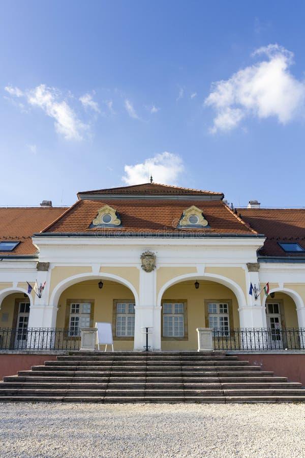 巴洛克式的城堡在Pomaz 库存照片