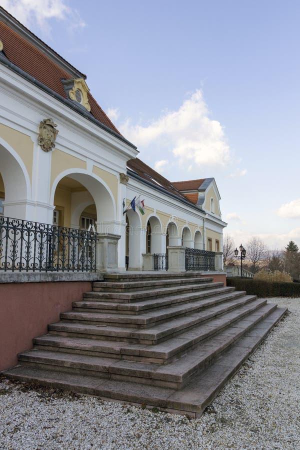 巴洛克式的城堡在Pomaz 库存图片