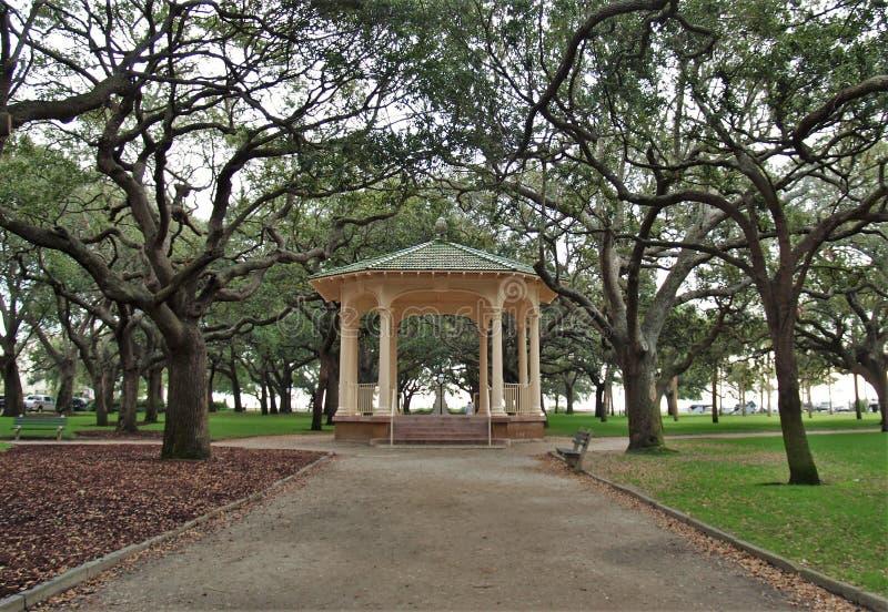 巴特里公园眺望台 库存照片