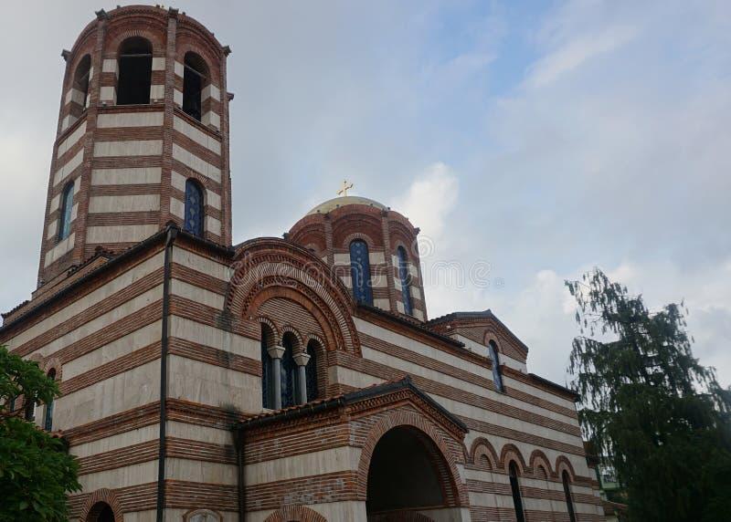 巴统圣尼古拉斯教会 免版税库存照片