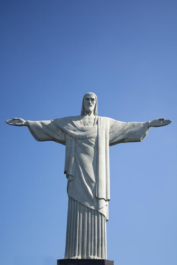 巴西人基督雕象里约热内卢 免版税库存图片