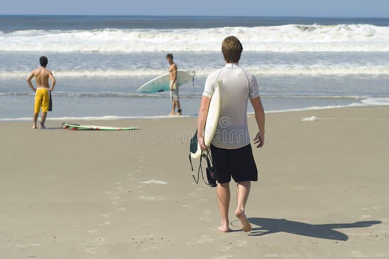 巴西冲浪者 库存图片