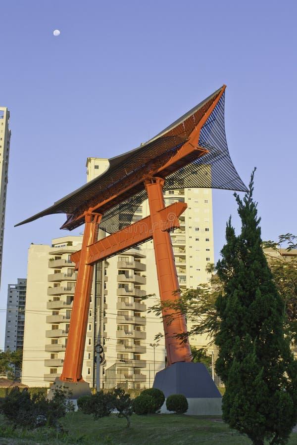巴西凯姆帕dos jose纪念碑圣地 库存照片