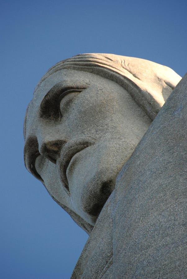 巴西基督cristo救世主redentor里约 免版税图库摄影