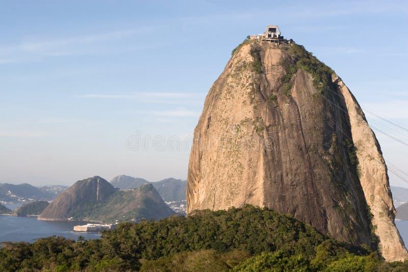 巴西大面包里约糖 免版税库存照片