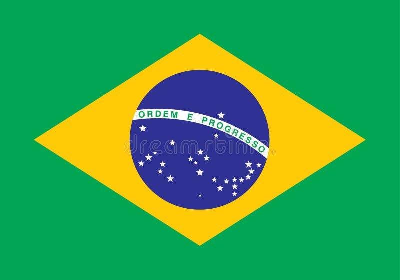 巴西标志 向量例证