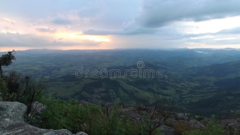 巴西的山 图库摄影