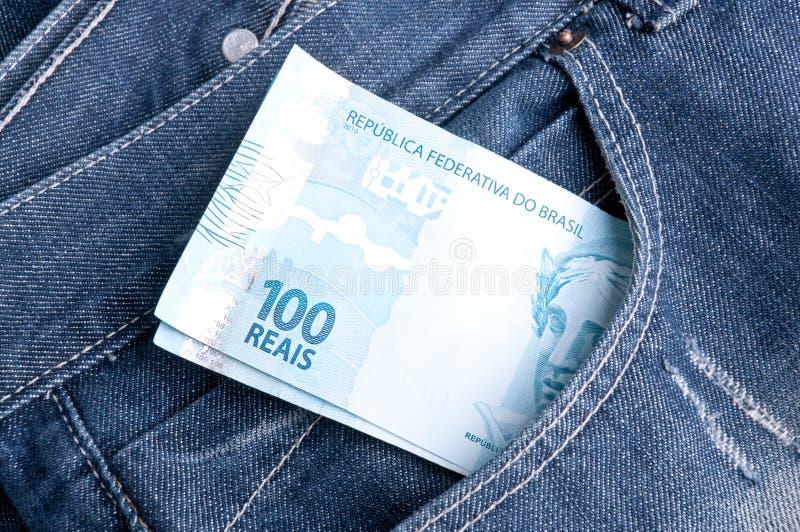 巴西货币 库存照片