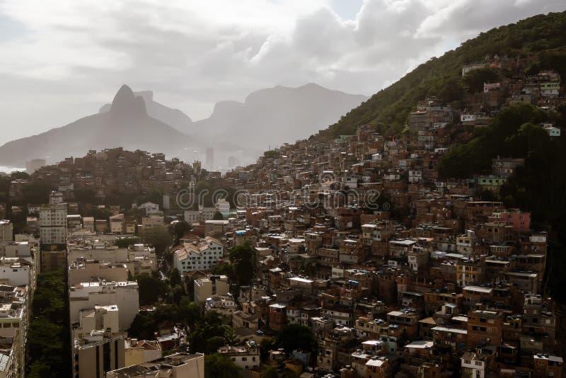 巴西里约热内卢航空 免版税库存照片