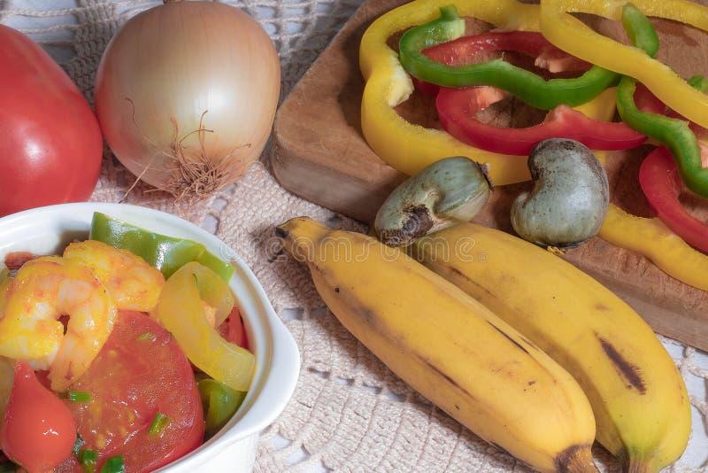 巴西食物 免版税库存照片