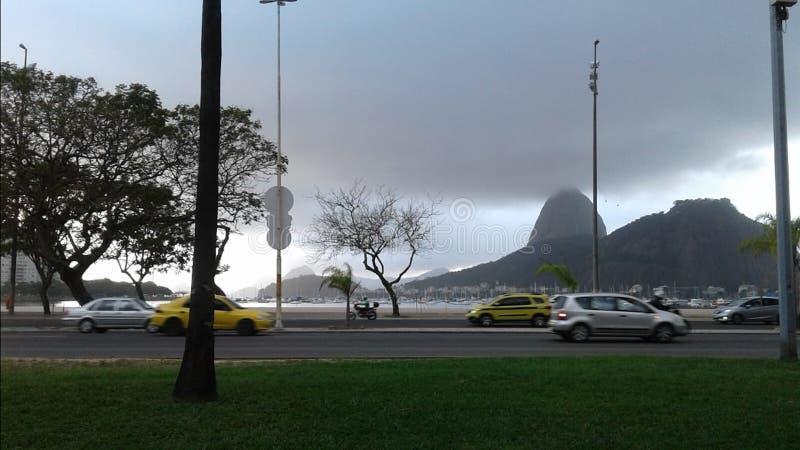 巴西-里约热内卢- Aterro 免版税库存照片