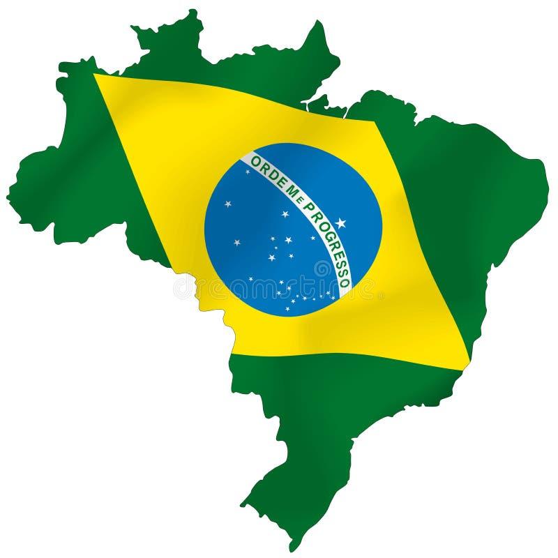 巴西 库存例证